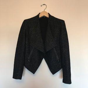 Structured wool jacket